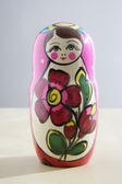 RUSSIAN NESTED DOLL — Stock Photo