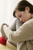 Mulher cansada — Fotografia Stock
