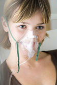 OXYGEN THERAPY — Stock Photo