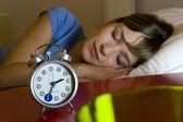 Mujer durmiendo — Foto de Stock
