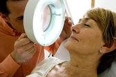 Dermatologie, symptomatology elde — Stockfoto
