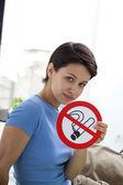 SMOKING, SYMBOL — Stock Photo