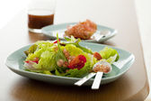 Salad with pomegrenate — Stock fotografie