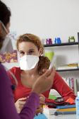INFECTION PREVENTION — Foto Stock