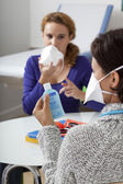 INFECTION PREVENTION — Stockfoto