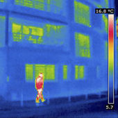 THERMOGRAM — Stock fotografie