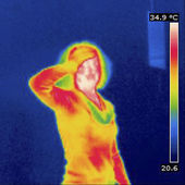 THERMOGRAM — Stock Photo