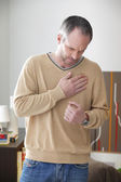 ANGINA PECTORIS, MAN — Foto Stock