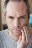 MAN WITH TOOTHACHE — Stock Photo