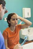 熱を持つ女性 — ストック写真