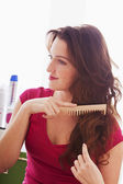 WOMAN'S HAIRCARE — Foto Stock