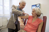RHEUMATOLOGY, ELDERY PERSON — Stock Photo