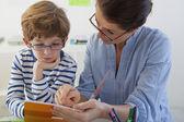 CHILD IN SPEECH THERAPY — ストック写真