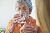MEDICAL ASSIST. FOR THE ELDERLY — Stock Photo