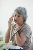 EMERGENCY CALL SYSTEM — Stock Photo
