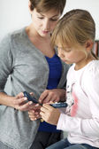 DIABETES CONSULTATION FOR CHILD — Stock Photo