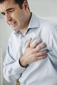 心臓発作を持つ男 — ストック写真