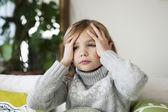 Nemocné dítě — Stock fotografie