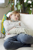 SICK CHILD — Foto Stock