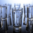 Eight glasses of water a day — Stock Photo