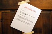 Eviction Notice — Stock Photo