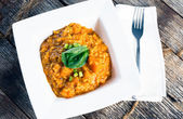 Butternut Squash Risotto — Stockfoto