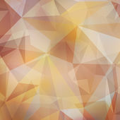 Vector abstract polygonal background — Wektor stockowy