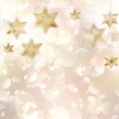 Elegant Christmas snowflakes and copyspace. — Stock Vector