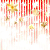 Christmas background with stars. — Stock Vector