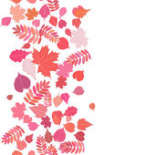 Autumn background with colorful leaves. — Stockvektor