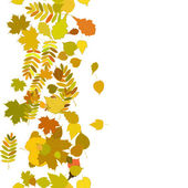 紅葉と秋の背景. — ストックベクタ