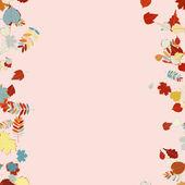 Beautiful autumn Leaves. — Stock Vector