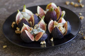 Grilled figs — Stock Photo