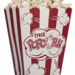 Stock Photo: Movie Popcorn