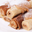 Stock Photo: Sweet pancakes in traditional style