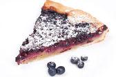 Homemade pie Blueberry  — Stock Photo