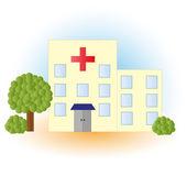 Hospital. Vector illustration — Stock Vector