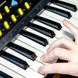 Pianist playing music — Stock Photo #41838005