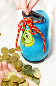 Moneybox for coins — Foto de Stock