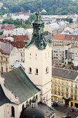 Landscape of the city of Lviv — Foto Stock