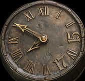 The dial hours from a stone — Stock Photo
