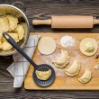 Stock Photo: Homemade dumplings