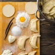 Homemade dumplings — Stock Photo #41822779