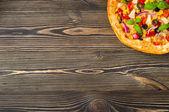 Homemade pizza — Stock Photo