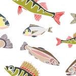 Cool Fish — Stock Vector
