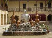 Statue of Iraqi poet Mohammed Jawahiri — Stock Photo