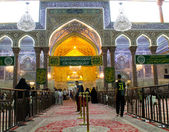 The shrine of Imam Hussein in Karbala — Stock Photo