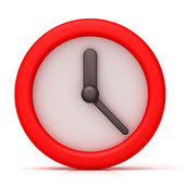 Simple clock — Foto Stock