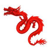 Seria smok chiński rd — Zdjęcie stockowe