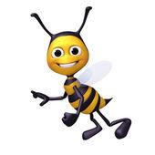 Bee happy pose — Stock Photo